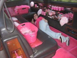 Pretty Pink Limo